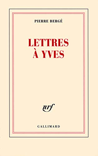 9782070128877: Lettres à Yves