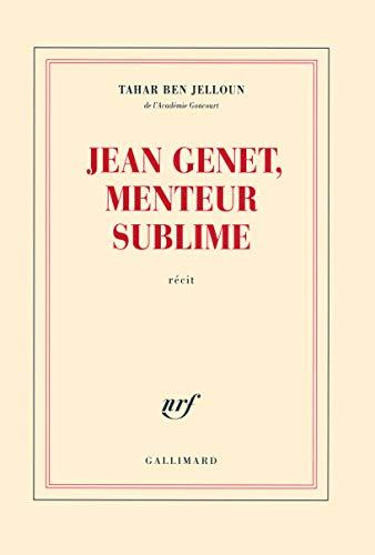 9782070130191: Jean Genet, menteur sublime