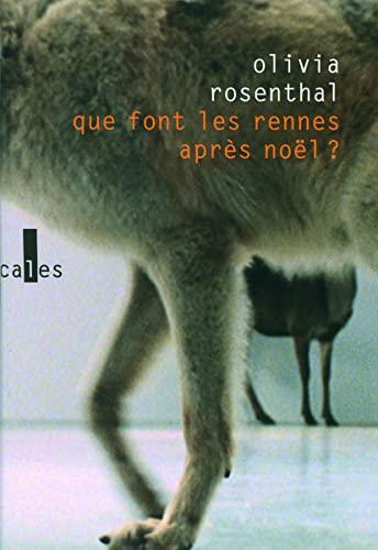 9782070130221: Que font les rennes après Noël ? (French Edition)