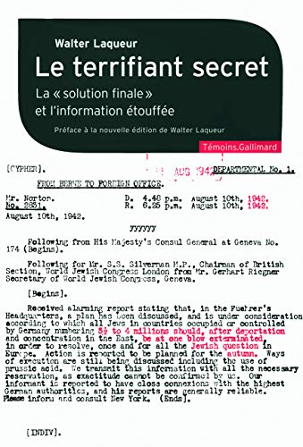 9782070131211: Le terrifiant secret (French Edition)