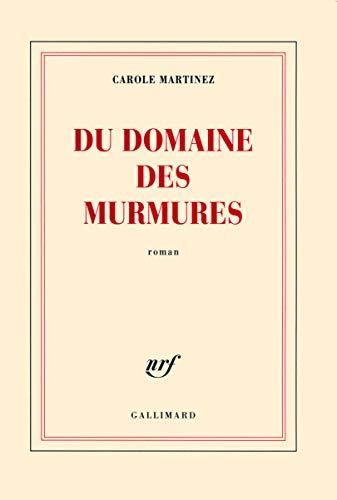 9782070131495: Du domaine des Murmures (Blanche)