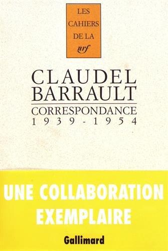 Correspondance (1939-1954) (French Edition): Claudel/Barraul