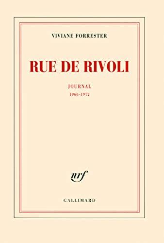 9782070132805: Rue de Rivoli: Journal (1966-1972) (Blanche)