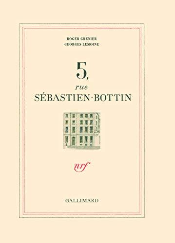 5, rue Sébastien Bottin (French Edition): Roger Grenier