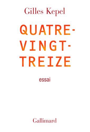 9782070134328: Quatre-vingt-treize (French Edition)