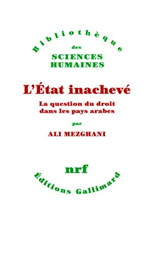 L'Etat inacheve (French Edition): Ali Mezghani