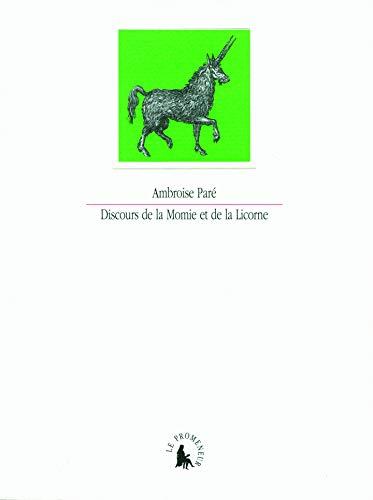 9782070136193: Discours de la Momie et de la Licorne