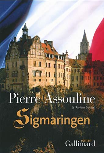 9782070138852: Sigmaringen (Blanche)