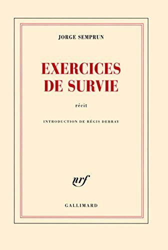 EXERCICES DE SURVIE: SEMPRUN JORGE