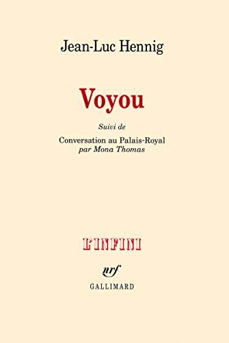 9782070139200: Voyou (L'infini)