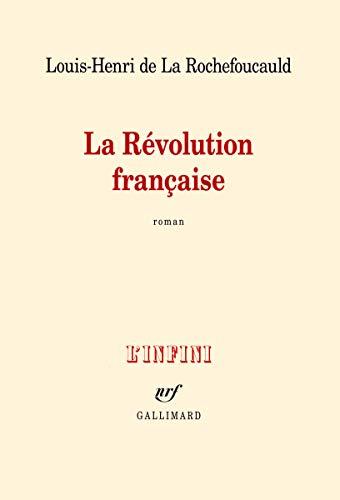 9782070140145: La Révolution française
