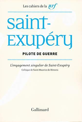 9782070140787: Pilote de guerre: L'engagement singulier de Saint-Exupéry
