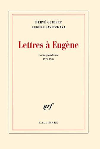9782070140879: Lettres à Eugène: Correspondance 1977-1987 (Blanche)