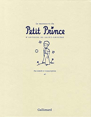 9782070142613: Le manuscrit du Petit Prince: Fac-similé et transcription