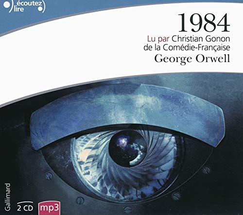 1984, Lu Par Christian Gonon (2 CD MP3) (French Edition): Orwell, George