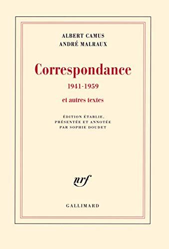 9782070146901: Correspondance (1941-1959) et autres textes
