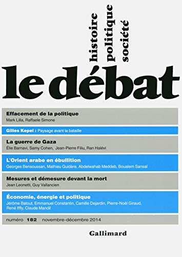9782070147458: Le Débat