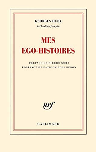 9782070148868: Mes ego-histoires