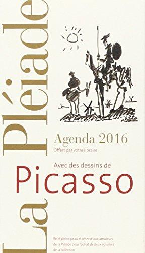 9782070149001: Ne peut �tre vendu s�par�ment - Agenda Pl�iade 2016 - Picasso - Offert uniquement pour l'achat de deux livres La Pl�iade* (*voir conditions sur la page de l'op�ration)