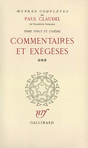 9782070164103: Oeuvres completes t21 (French Edition)