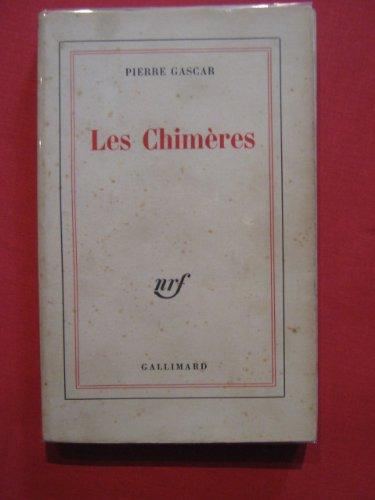9782070166664: Les chim�res (Beaux Papiers)