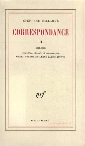 9782070170234: Correspondance : Tome 2