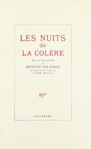9782070174683: Les Nuits de la col�re