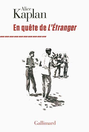 9782070178582: En quête de «L'Étranger»