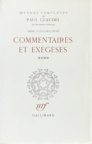 Oeuvres completes t27 (French Edition): Paul Claudel