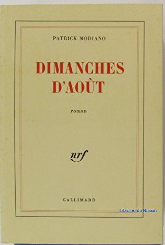 9782070189007: Dimanches d'Août (Beaux Papiers)