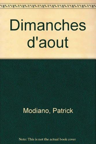 9782070189014: Dimanches d'Août (Beaux Papiers)