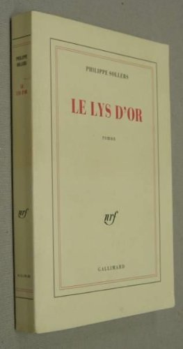 9782070189922: Le Lys d'or
