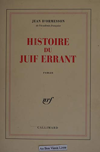 9782070190720: Histoire du Juif errant