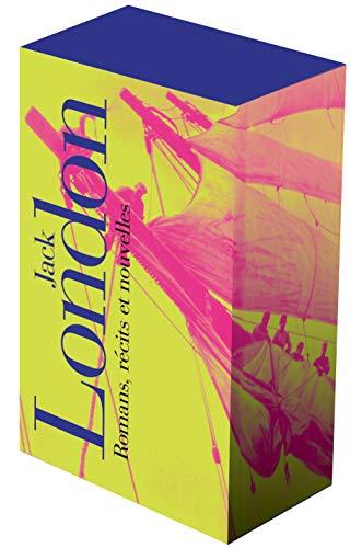 Jack London, romans, récits et nouvelles t.1 et t.2 ; coffret: Jack London