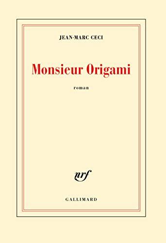 9782070197729: Monsieur Origami (Blanche)