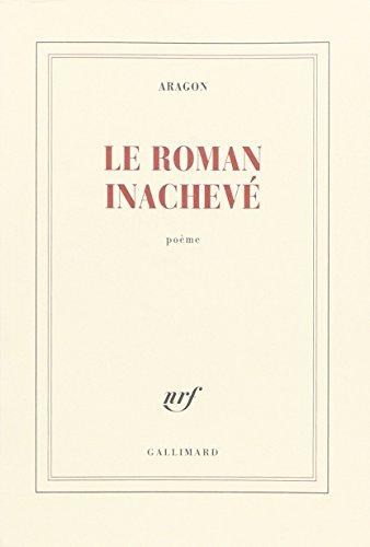 9782070202232: Le Roman inachevé