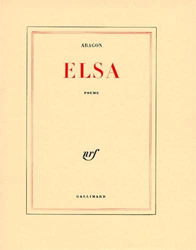 Elsa; Poýýme: Louis Aragon