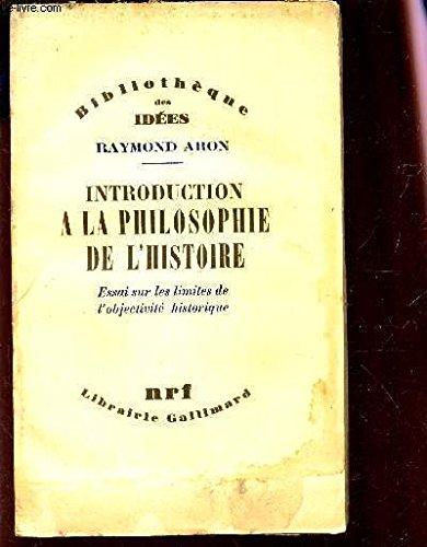9782070202744: Introduction a la philosophie de l'histoire