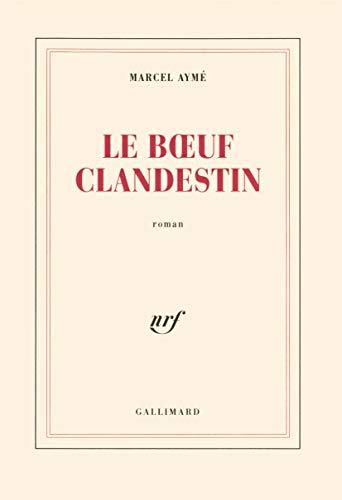 9782070203963: Le Boeuf clandestin