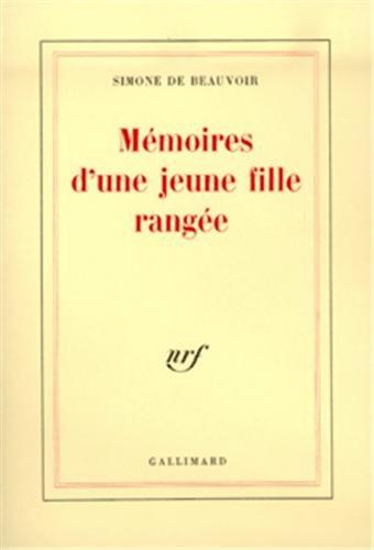 Mémoires d'une Jeune Fille Rangée: Simone de Beauvoir