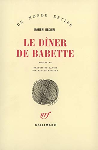 Le diner de babette (French Edition): Karen Blixen