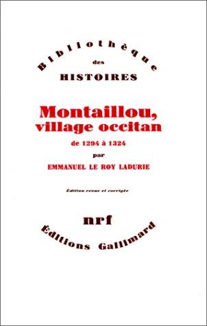 9782070209514: Montaillou, village occitan de 1294 a 1324 (French Edition)