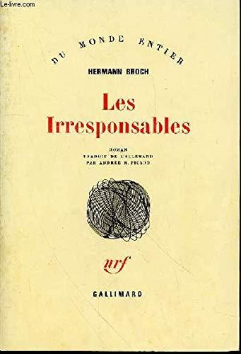 9782070210435: Les Irresponsables