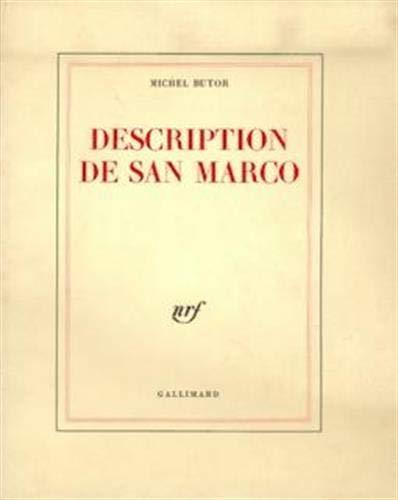 9782070210992: Description de San Marco