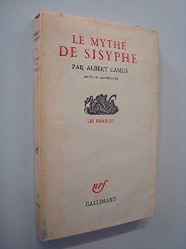9782070212019: Le Mythe de Sisyphe