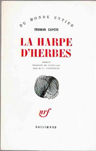 9782070212262: La Harpe d'herbes