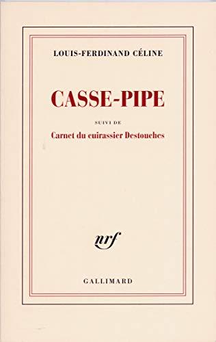 9782070213030: Casse-pipe - Carnet du cuirassier Destouches