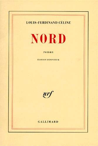 9782070213122: Nord (Blanche) (French Edition)