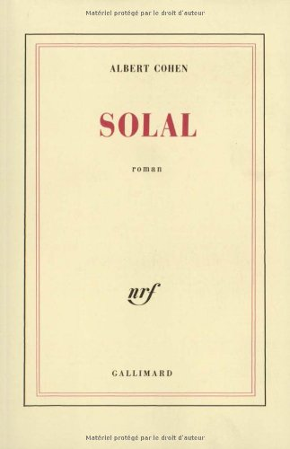 9782070216017: Solal (Blanche)