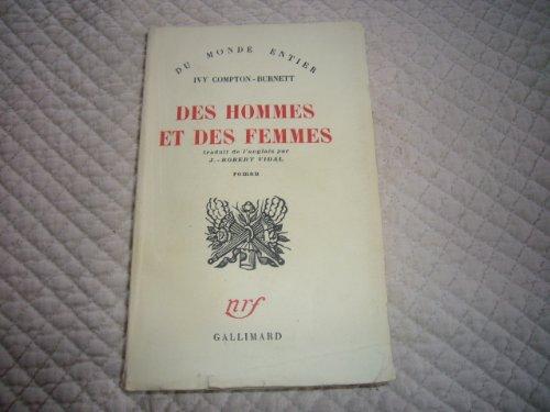 9782070216284: Des hommes et des femmes